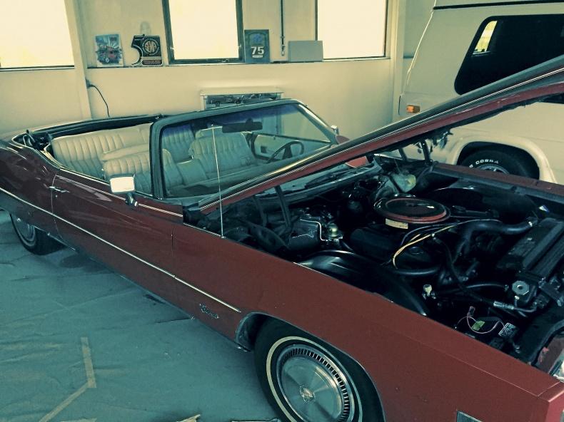 Cadillac Eldorado Cab.