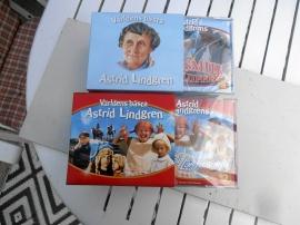 Astrid Lindgren  19 st CD i DVD box