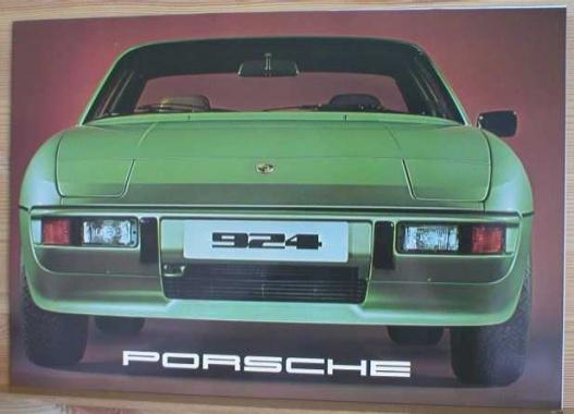 Broschyr Porsche 924 1977