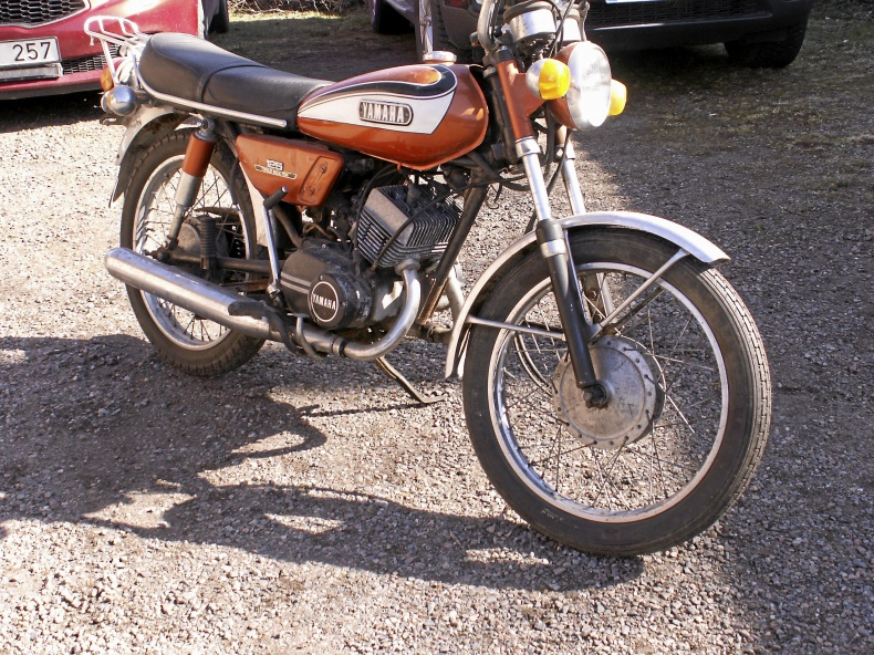 Yamaha 125 AS3