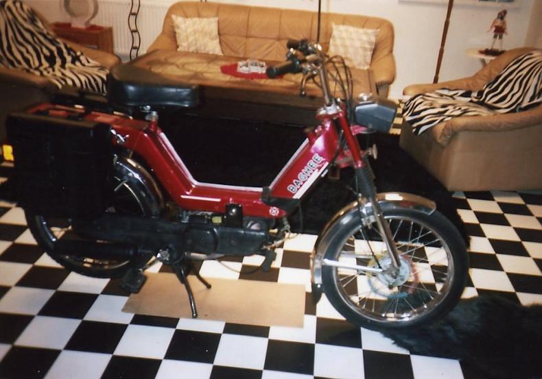 Moped Piaggio Baghee