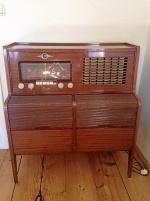 Radiomöbel Vintage Concerton
