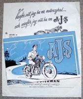 AJS MOTORCYKLAR 1960