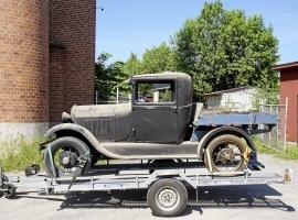 Träflak 30-talet, passar A-Ford, T-Ford, Cheva m.fl.