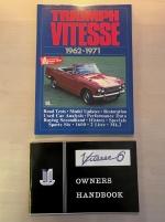 Handböcker till Triumph Vitesse