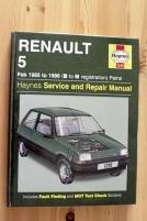Handbok Renault 5