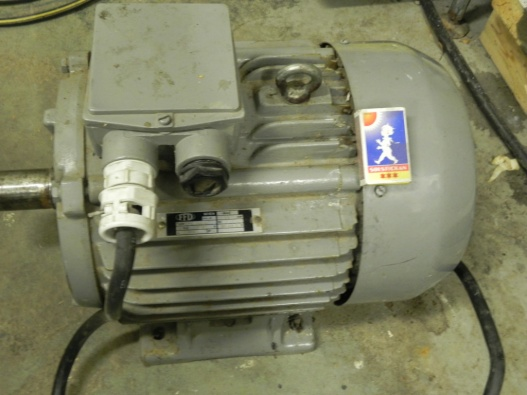 3-fas 400V elmotor 5,5kw