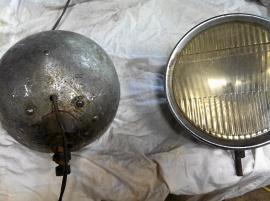 Två stålkastre Nash 1929
