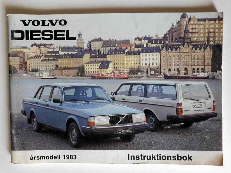 Instruktionsbok Volvo 240