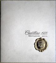 Broschyr Cadillac 1978