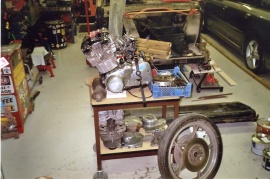 Suzuki 1000cc motor -80 tal
