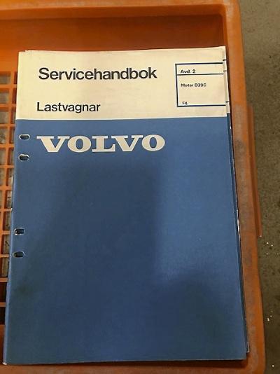Volvo LV verkstadslitteratur