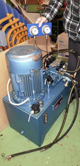 Hydraulaggregat i nyskick