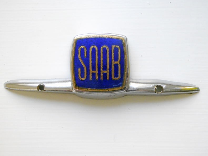 Äldre Saab-märke