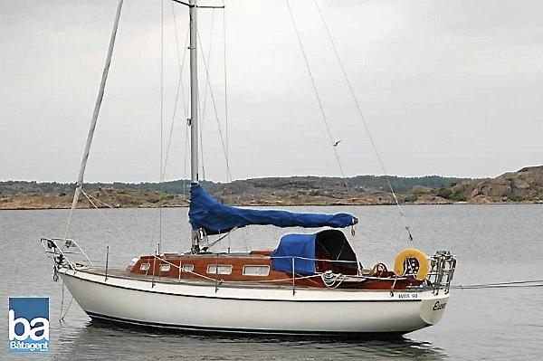 Segelbåt Vindö 40