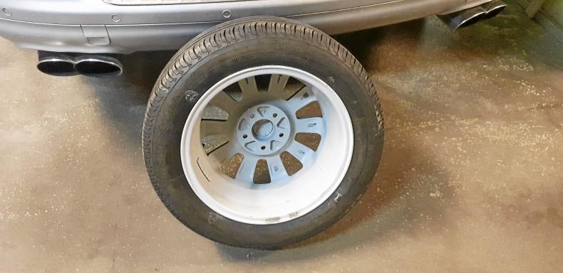 Cadillac 5x110 sommarhjul 16 tum