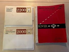 Handböcker för Rover 2000 och 2200