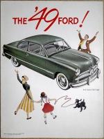Broschyr Ford 1949