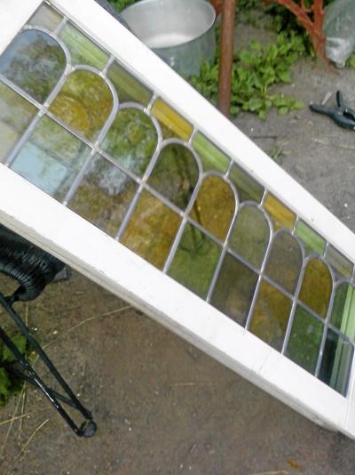 Blyinfattat fönster 2 m x 40 cm