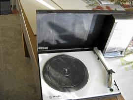 Bärbar grammofon