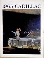 Broschyr Cadillac 1965