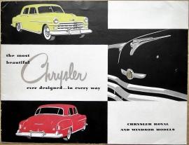 Broschyr Chrysler Royal Windsor 1950