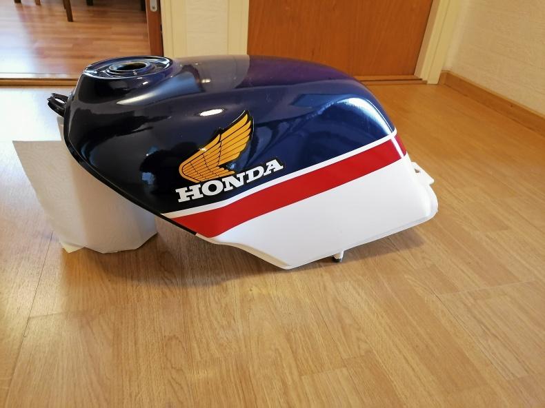 Oanvänd tank Honda NS125F