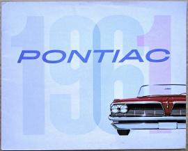Broschyr Pontiac 1961