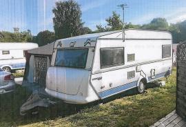 Polar Husvagn GLS-Higt back 1995 med Svenska förtält DJA002