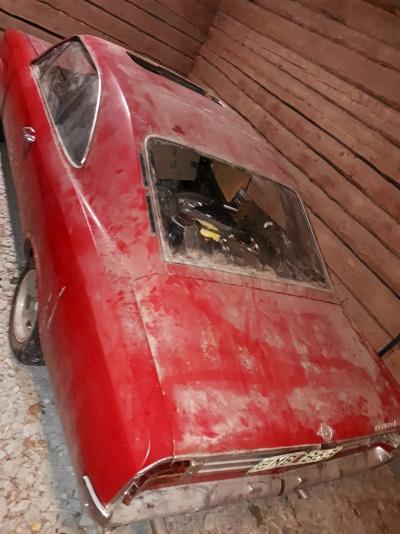 Opel Rekord objekt