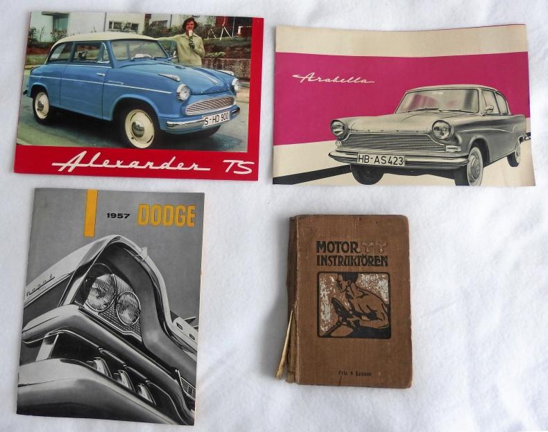 Broschyrer och instruktionsböcker