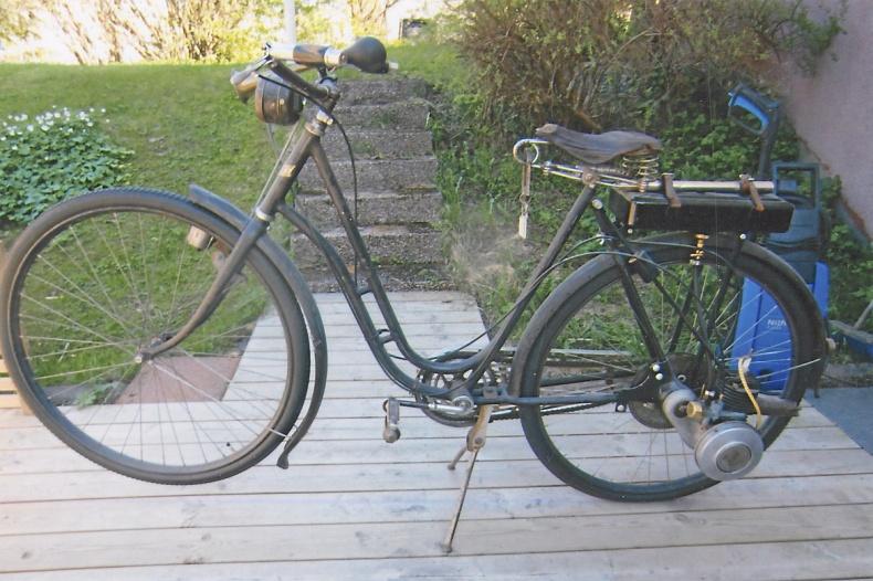 mobile_ Cykel med hjälpmotor