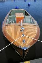 Klassisk motorbåt