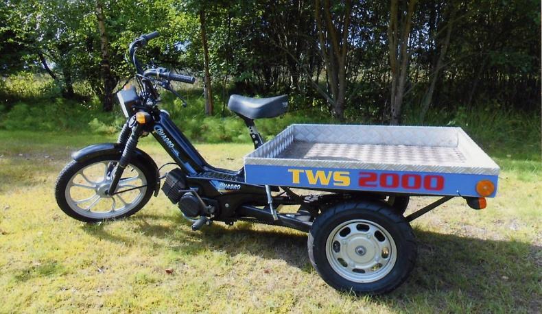 Moped Flakmoped, se bild