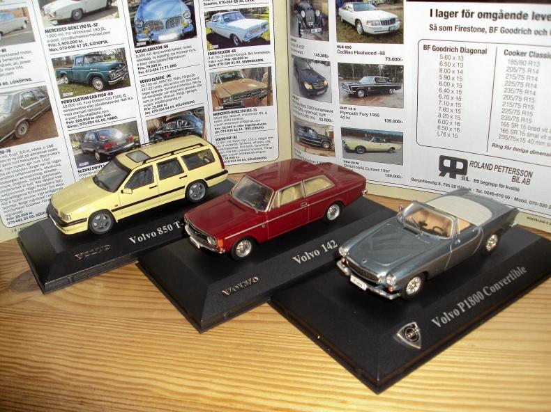 1:43 Volvo med ursprunglig kvalitet 3 st