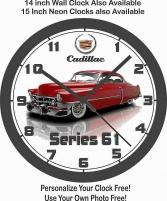 Cadillac Vägg Klocka