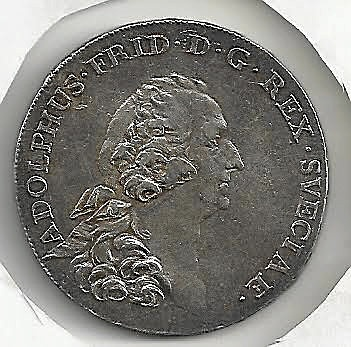 Adolf Fredrik Riksdaler 1769