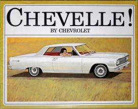 Broschyr Chevrolet Chevelle 1964
