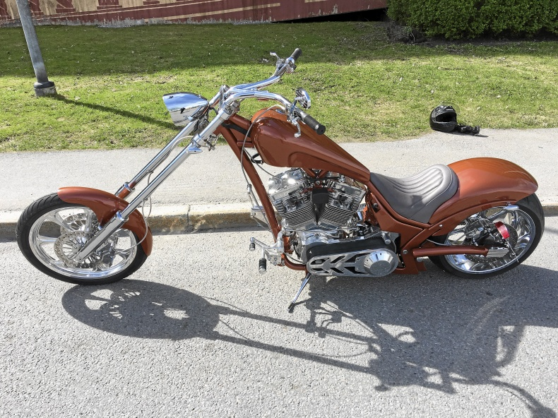 West Forrest chopper Harley