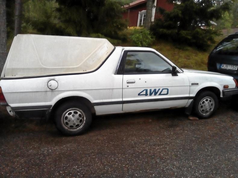 Subaru 1800 Pickup