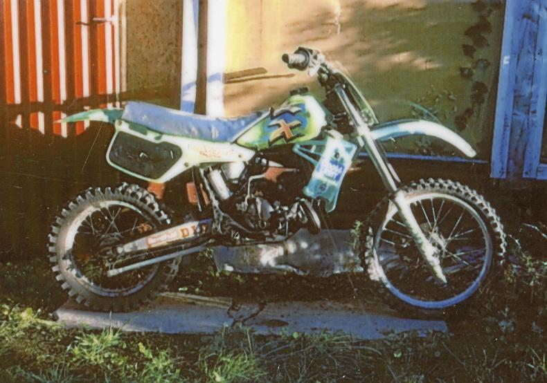 mobile_ Cross Kawasaki Kx 80 cc