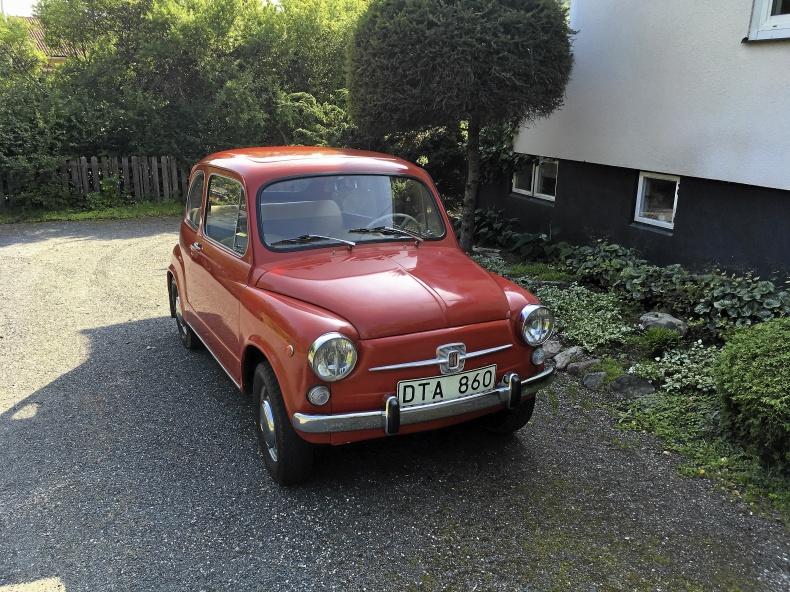 Fiat 600 D original