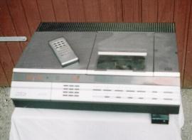 Videobandspelare VCR
