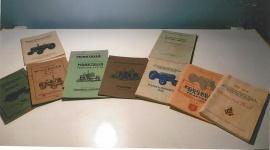 Instruktionsbok Reservdelsfört. Tidningen Traktor