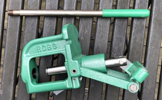 RCBS handladdningsverktyg