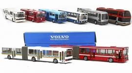 Volvobussar