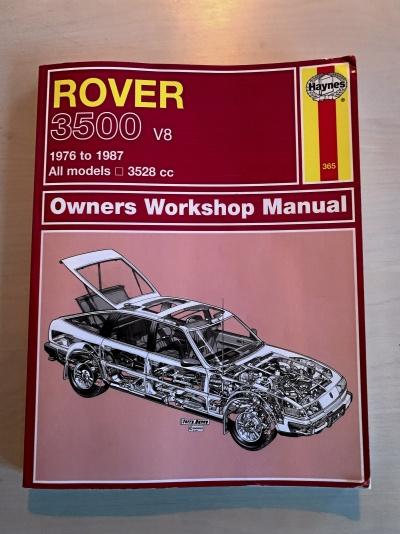 Haynes verkstadshandbok till Rover SD1