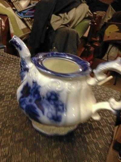 Paret antika kaffekoppar, Kaffeklarare allt Rörstrand
