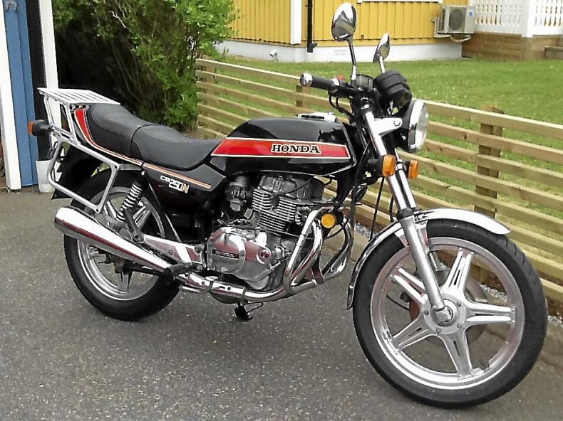 mobile_Honda CB 250 N