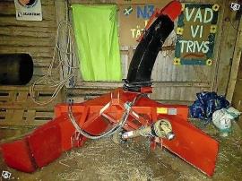 Fransgård V-230 snöslunga i nyskick